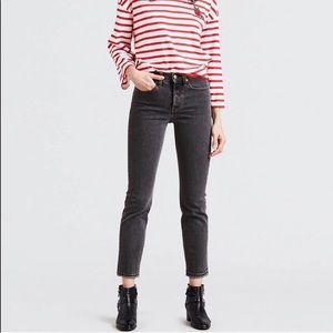 Levi Wedgie Jeans in Dee Dee